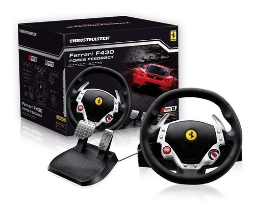 volante pedales playstation 3 ps3 thrustmaster ferrari f430