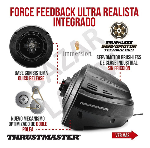 volante pedales x3 pc ps4 ps3 thrustmaster t300 rs gt