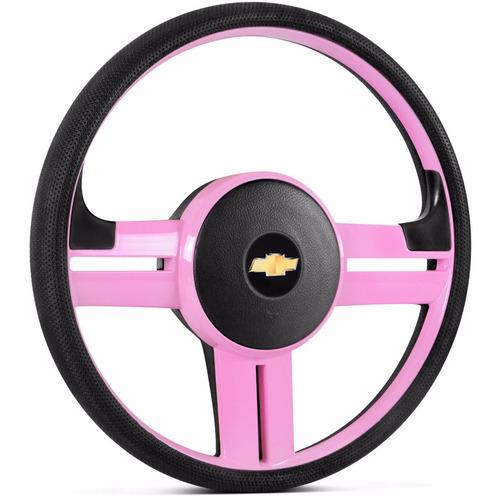 volante rallye slim rosa celta 2001 a 2013 com emblema gm