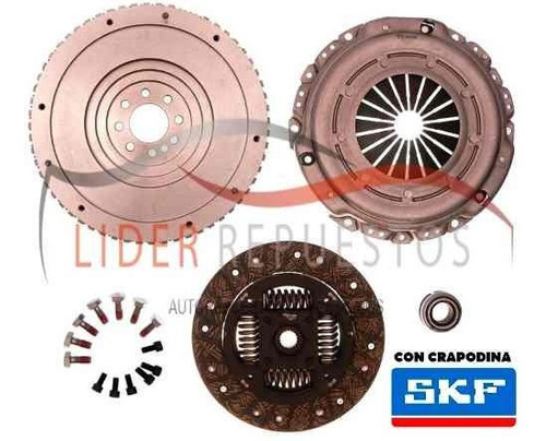 volante rigido kit de embrague citroen c4 2.0 hdi
