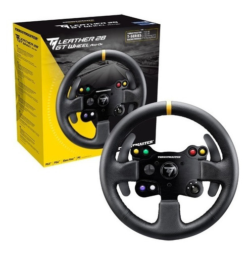 volante thrustmaster leather 28 gt pc xbox one ps4 ps3