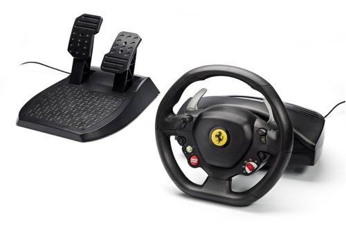 volante thrustmaster xbox 360 oficial ferrari 458 italia