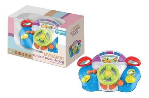 volante timón para bebes carro baby shower con luces sonidos