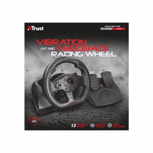 volante trust gaming vibración gtx 580 pc / ps3