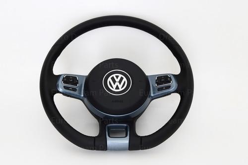 volante vw en piel con controles y bolsa amarok beetle jetta