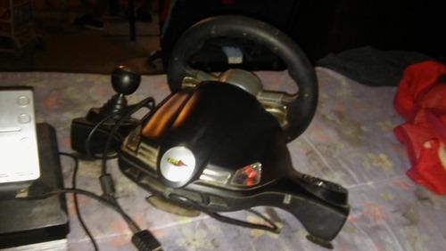 volante y pedalera level-up 3 en 1