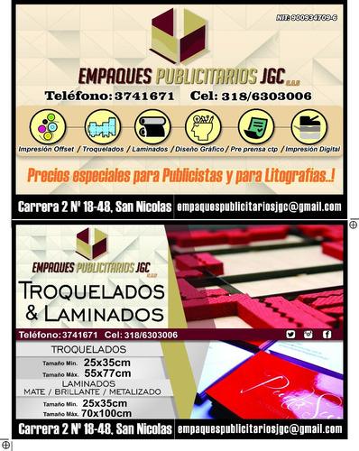 volantes 20x13 cm full color  4x4, diseño gratis..!!