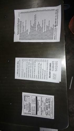 volantes folletos blanco y negro