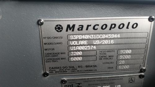 volare w9 limousine ano 2013 rodoviario seminovo jm cod.333