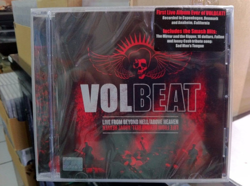 volbeat live from beyond hell above heaven 2011 cd nuevo