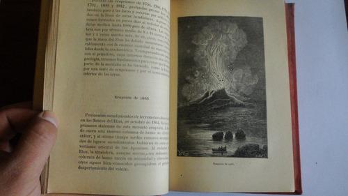 volcanes y terremotos - zurcher y margollé - 1885