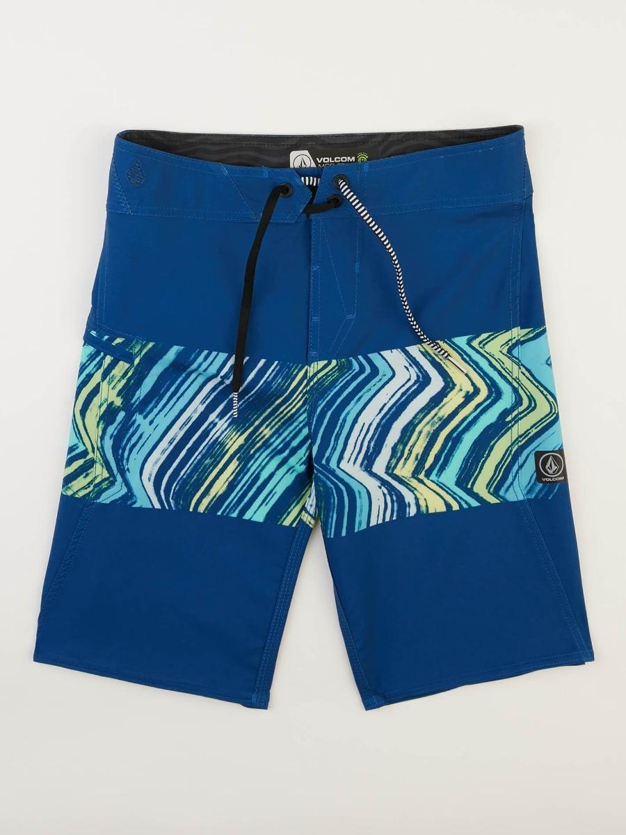 volcom malla traje de baño surf niño tela elastizada. Cargando zoom. c5ee7c72b25