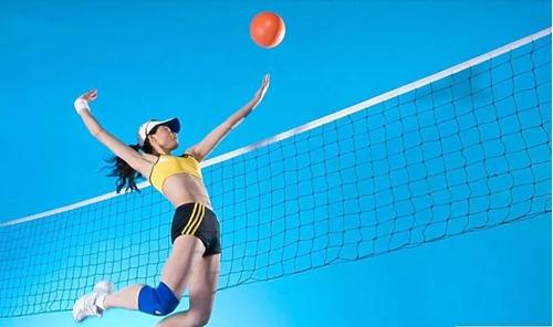 vóleibol deporte red