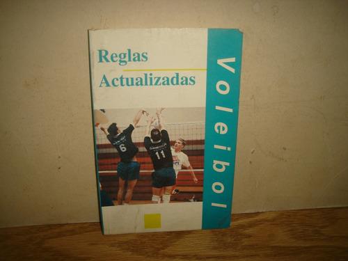 voleibol, reglas y actualizaciones