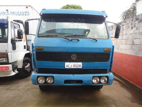 volks 13.130 ano 86 truck carroceria