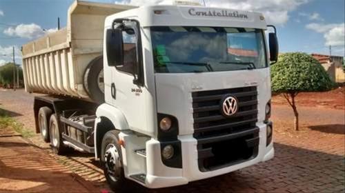 volks 24250 truck basculante   ano 2009/10