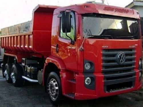 volks 24250 truck basculante   ano 2012/12