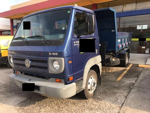 volks 8-150 delivery, motor cumins, revisada, caçamba