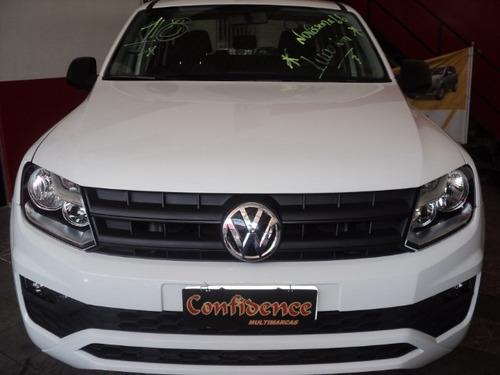 volks amarok 2.0 s cab. dupla 4x4 4p 2018 10000 km$106990,00