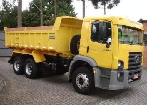 volks constellation 24280 caçamba truck zero 2019\19