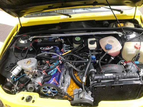 volks nick dacon 1988 1.8 turbo àlcool -rodas porsche origs