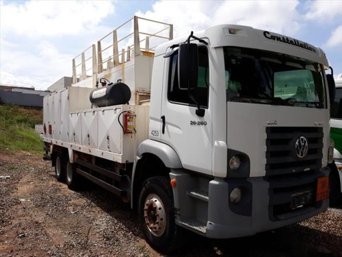 volkswagem 26-260 6x4 ano 2011/2012 comboio 10.000 litros