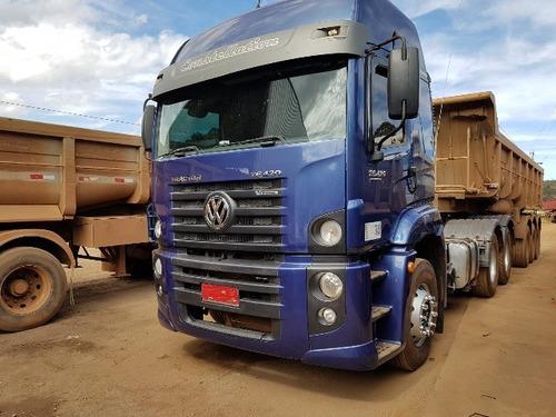 volkswagem 26-420 6x4 ano 2014  completo câmbio automático
