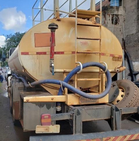volkswagem 31-320 6x4 ano 2008 pipa gascom tanque ano 2014