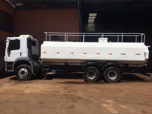 volkswagem 31-320 6x4 ano 2010/2010 tanque pipa  2 unidades