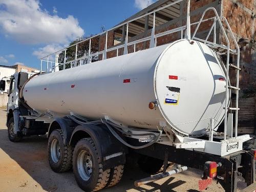 volkswagem 31-320 6x4 ano 2011 tanque pipa gascom 20.000 l