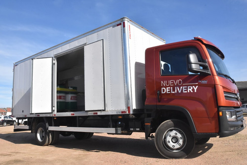 volkswagen 11-180 nuevo delivery 4x2 con furgon semitermico