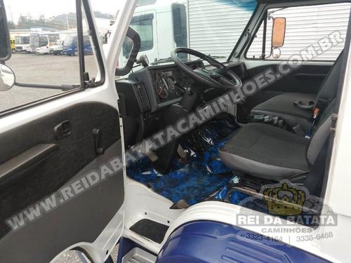 volkswagen 12-140 h motor mwm 6 cilindros baú 8,20 impecável