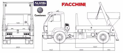 volkswagen 15.190 porta volqueta de fábrica + iva