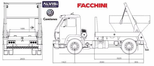 volkswagen 15.190 volquetero de fábrica 0km + iva