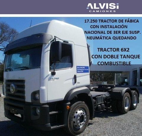 volkswagen 17-250 constellation tractor 6x2 doble eje + iva