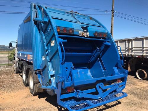 volkswagen 17220 worker trucado com compactador de lixo 2011