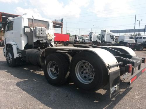 volkswagen 18.310/35 balancín 6x2  tractor con cabina dormit