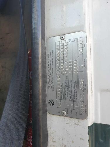 volkswagen 23.250 6x2 ano 2005 !!! venda no chassi !!!