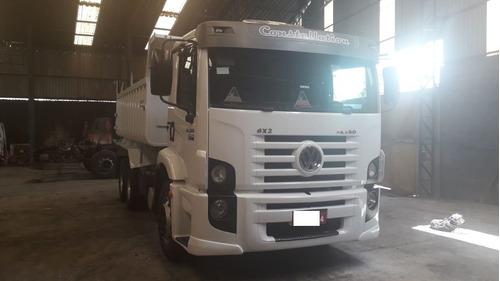 volkswagen 24-280 2014 truck 6x2 constellation c caçamba