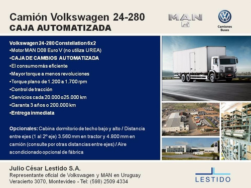 volkswagen 24-280 constellation advantech, con motor man d08