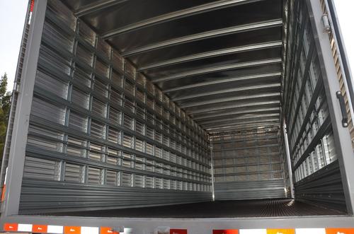 volkswagen 24-280 constellation con furgon cargas generales
