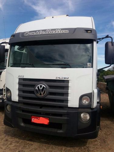 volkswagen 24.280 6x2 2012 baixo km = vw 24.250  worker