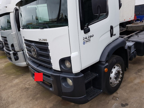 volkswagen 24280 6x2 2012 no chassis = truck vw caminhão