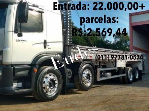 volkswagen 24280 constellation 2014 carroceria