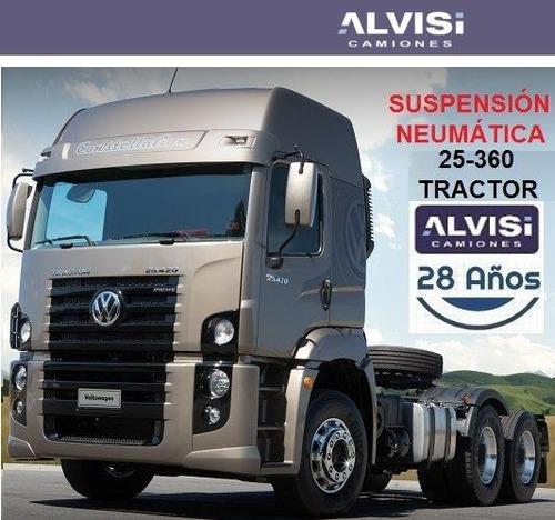 volkswagen 25-360 tractor susp. neumática 6x2 360hp + iva