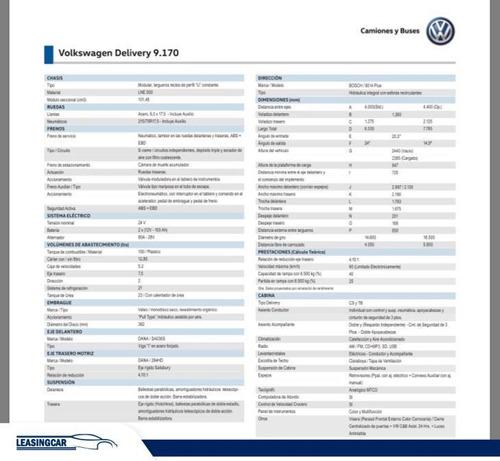 volkswagen 9-170 9.170 2019 0km