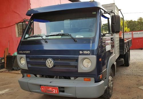 volkswagen 9150 carroceria madeira cabine suplementar 2011