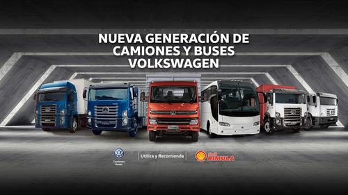 volkswagen 9.150 con furgón paquetero