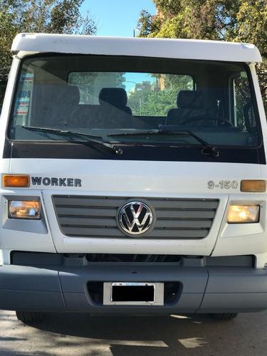 volkswagen 9.150 worker chasis largo 2006