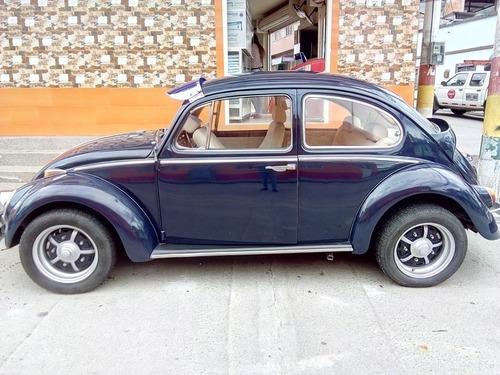 volkswagen aleman modelo 1966 azul 1600 cc